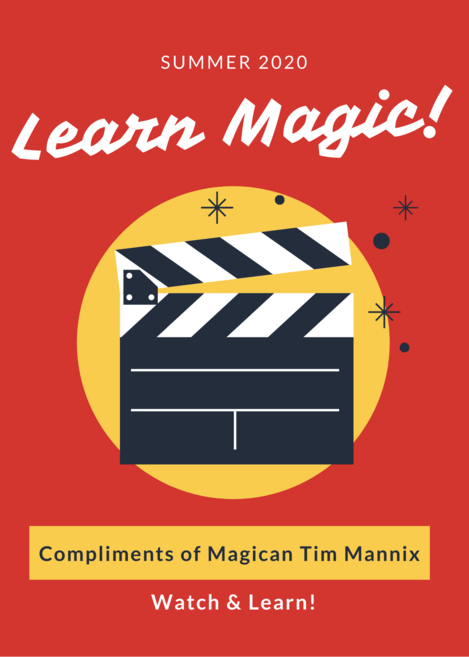 Learn Magic - Clapboard Red Yellow Flyer.png